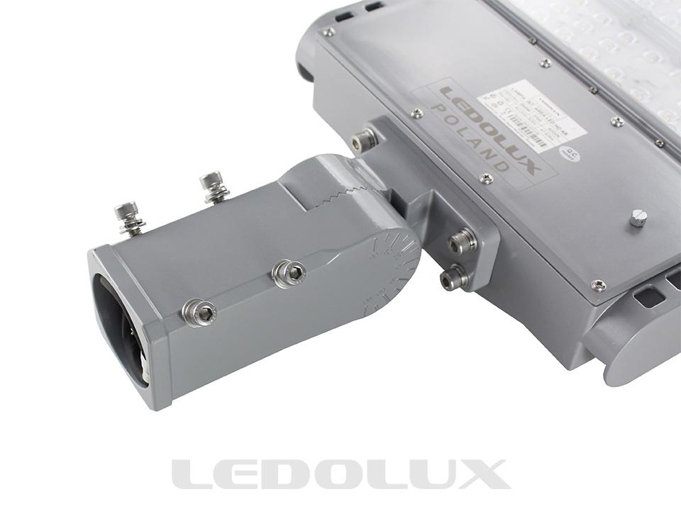 LED-Leuchte AREA LED, Einstellbarer Montagegriff für Ausleger oder Pfosten