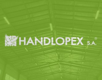 Oświetlenie hali magazynowej firmy Handlopex