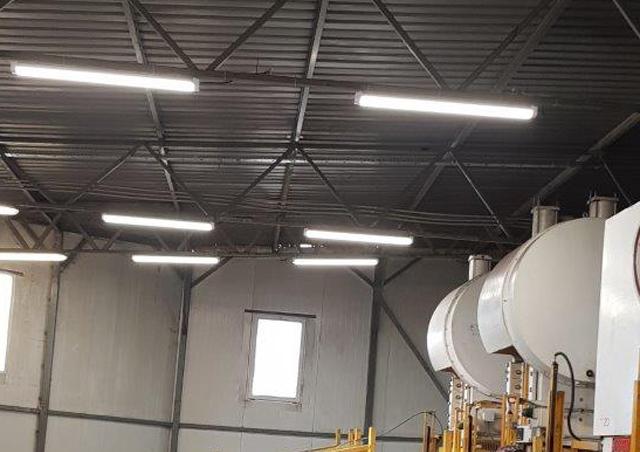 Industrielle LED-Leuchten für Proma Tychy