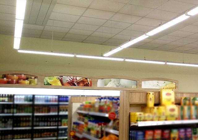 Industrielle LED-Leuchten für Społem